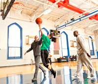 Celtics Visit Boys & Girls Club